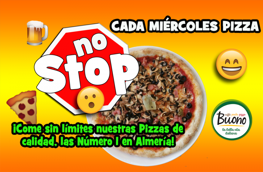 ¡Pizza NO Stop!